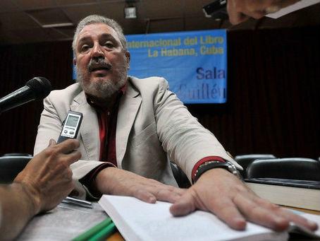 台媒:古巴前领导人卡斯特罗长子自杀 患有严重抑郁症