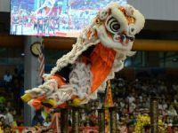 马来西亚沙巴州举办戊戌年龙麒狮大汇演