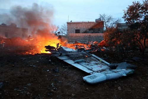 """外媒:俄战机叙境内遭击落 美否认向叙武装供""""毒刺"""""""