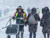 莫斯科遭遇连日暴雪