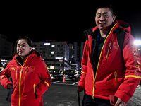 中国冬奥代表团陆续抵达平昌