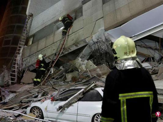 台媒:台湾地震2名大陆游客受伤 蔡英文指示海基会协助