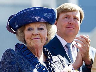 荷兰80岁前女王