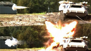 毫发无损!德研主防系统可拦截穿甲弹