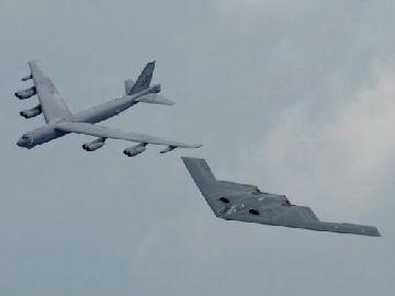 美媒:美军为轰炸机配新型导弹 确保穿透防线妄图打到中俄