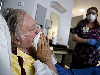 美流感肆虐每周致死4000人
