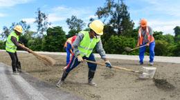 中国建设者助力东帝汶经济腾飞