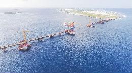 中马友谊大桥展现中国建桥实力