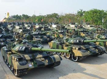 英媒:缅甸举行首次三军联演 超8000名官兵演练两栖战