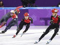 中国队晋级短道速滑男子5000米接力决赛