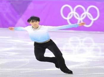 冬奥会男子花滑龙虎斗 中国选手表现出色挺进决赛