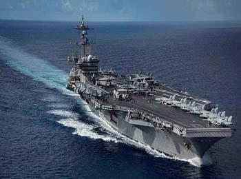 """外媒称美航母""""卡尔·文森""""号重返南海 3月份将出访越南"""