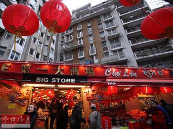 """英媒称春节出境游成中国人生活""""刚需"""":各国营造年味"""