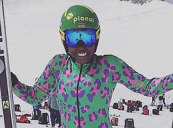 德媒关注肯尼亚首位女子冬奥选手:自筹资金实现奥运梦想