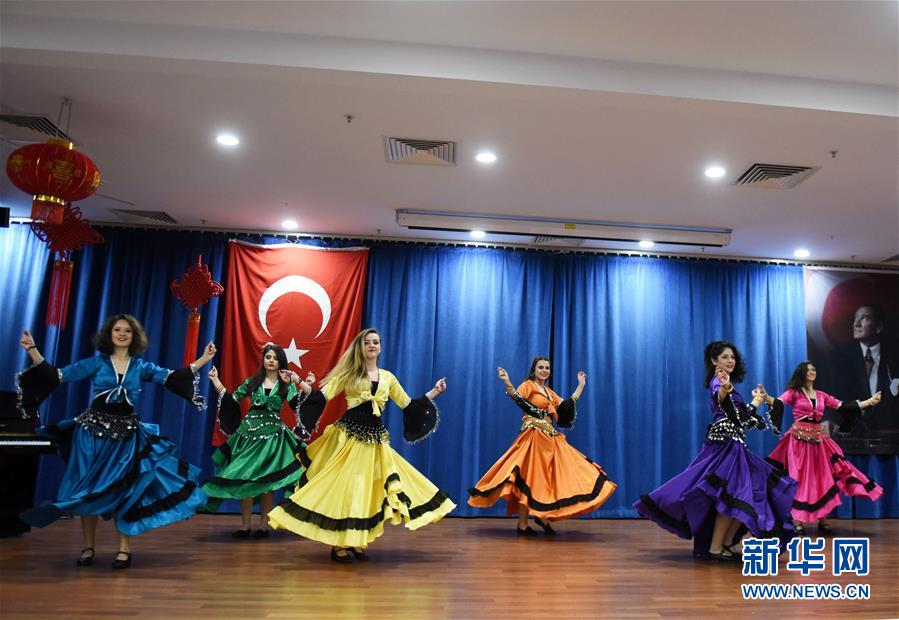 土耳其晔迪特派大学庆祝中国春节