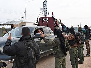 叙利亚亲政府武装进入阿夫林地区