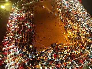 海南启动应急预案疏导车辆