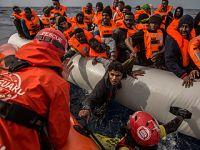 2017年进入欧盟难民降至4年最低
