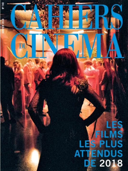 法国《电影手册》2018年1月封面