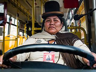 """玻利维亚""""女汉子""""的崛起之路"""