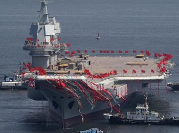 """英媒:中国军力""""超速""""增强 2050年或建成一流强军"""