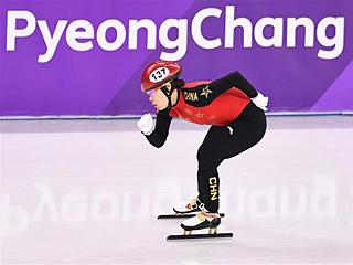 冬奥赛场上的中国老将