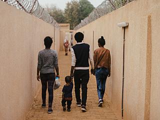 这里成非洲难民