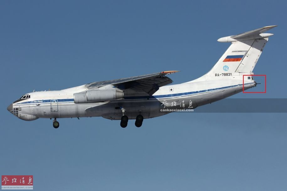 不止运输机!俄伊尔-76还能投弹开炮