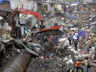 孟买穷人陷入