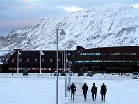 挪威朗伊尔城:距离北极点只有1300公里
