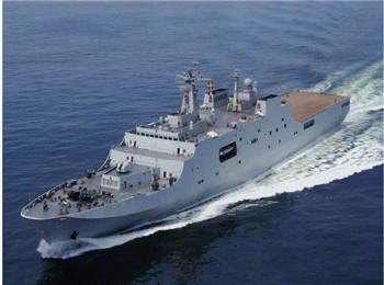 美媒称中国海军两栖舰队迅速扩充