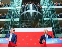 德国社民党同意与联盟党再次联合组阁