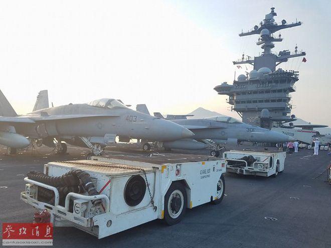 时隔43年首访越!美核动力航母停岘港