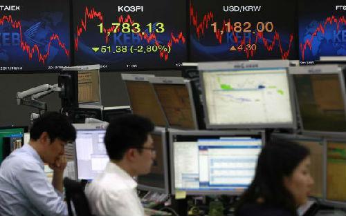 韩媒:2017年中国投资者成韩国股票净买家
