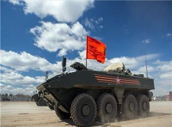 """可搭载步兵亦可反坦克 俄或研发""""独一无二""""轮式战车"""