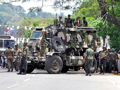 德媒:斯里兰卡宣布进入紧急状态 以防种族冲突蔓延