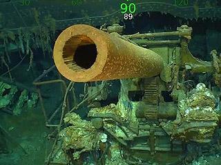 """这艘航母消失海底76年 居然藏在了""""珊瑚""""中"""