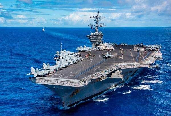 逼迫东南亚选边站?外媒称美航母访问越南意在制衡中国