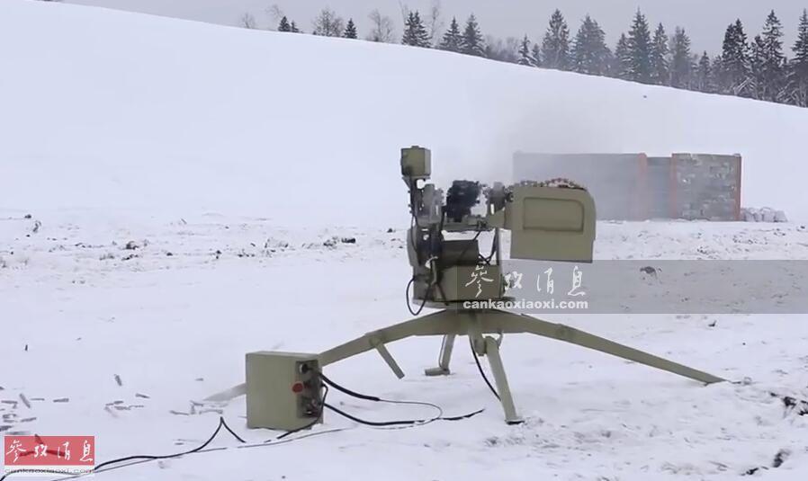 科幻武器成真!AK东家推无人战车灭敌