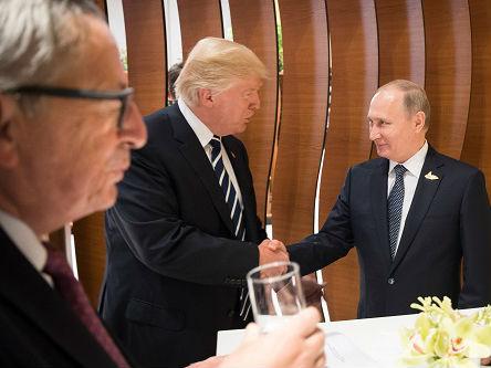 """普京调侃没想""""策反""""美第一夫人 两人曾在G20峰会上见面"""