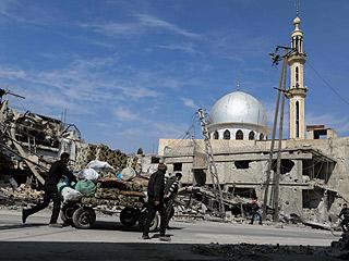 战火中的叙利亚东古塔地区