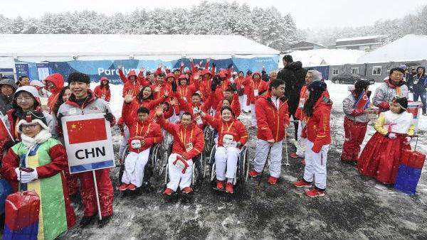 平昌冬残奥会拉开序幕 中国派出史上最大代表团