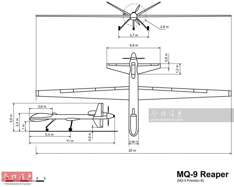 去世神展翅!美MQ-9无人机灭塔利班工场