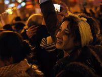 西班牙举行妇女节大游行