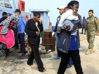 利比亚水师在西部海疆救起125名合法移民