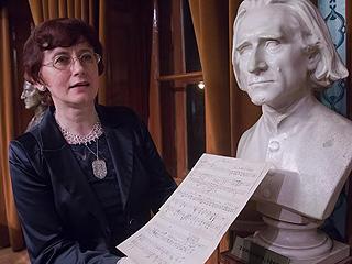 匈牙利展出李斯特乐谱手稿