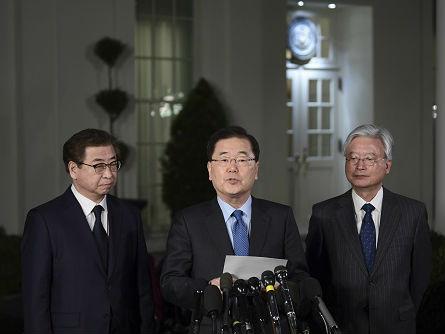 韩媒:韩特使团今起访问中俄日 介绍访朝和访美成果