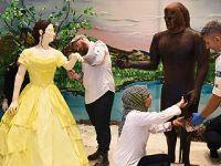 伊斯坦布尔糕点节创造艺术品世界