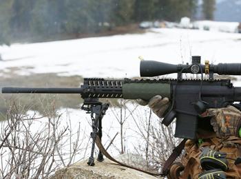 外媒:乌克兰将列装美式狙击步枪 号称能压制俄军神枪手