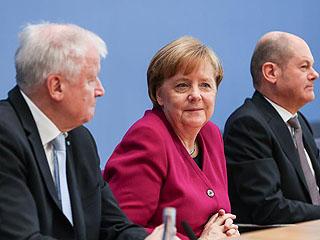德国联盟党和社民党签署联合组阁协议